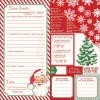 "Photo Play Dear Santa Dobbeltsidet Cardstock 12x12"" - Dear Santa"