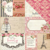 """Photo Play Paper Belle Vie Double-Sided Cardstock 12x12"""" By Julie Nutting - Cards"""