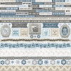KaiserCraft Frosted Cardstock Stickers 12x12""