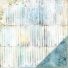 "Blue Fern Seaside Cottage Dobbeltsidet Cardstock 12x12"" - Whitewash"