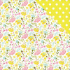 "Photo Play Paper Bloom Double-Sided Cardstock 12x12"" Birds & Bees"