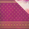 "KaiserCraft Bombay Sunset Double-Sided Cardstock 12x12"" - Sari"