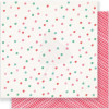 "Crate Paper Fa La La Double-Sided Cardstock 12x12"" - Very Merry"