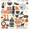 My Minds Eye Trick Or Treat Chipboard Elements 12x12""