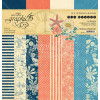 """Graphic 45 Double-Sided Paper Pad 12x12"""" 16/Pkg Sun Kissed"""