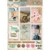 StudioLight Easy 3D Punched Sheet A4 #617 Memories Of Summer