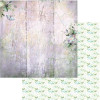 """49 and Market Serendipitous Double-Sided Cardstock 12x12"""" Misty Breeze"""