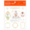 Season Leaf PVC Gold Planner Stick Me Stickers Don Juan