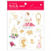 Season Leaf PVC Gold Planner Stick Me Stickers Queen Elizabeth