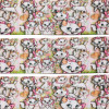 25mm Cartoon Printed Stofbånd - Disney Aristocats Marie All Over