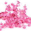 Beyond Visions Metal Pynt Brads - 7mm Rosa Blomster