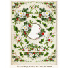 LemonCraft A4 Scrapbooking Paper, Christmas Carols, Vintage Time 012