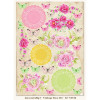 LemonCraft A4 Scrapbooking Paper, Fresh Summer, Vintage Time 014