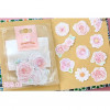 Frost Seal Paper Stickers Blomster, 10 stk