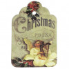Paper Label Tags - Christmas Angel