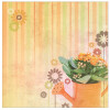 "Paper House 12x12"" Floral Paper - Just Add Water"