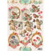 Studio Light Shabby Chic 3D Udstandset Ark
