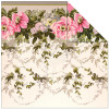 "Anna Griffin Camilla Double-Sided Cardstock 12x12"" - Floral Border"
