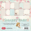 "Craft & You 12x12"" Shabby Baby Paper Set"