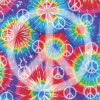 "Sugar Tree Papers 12x12"" - Tie Dye Peace"