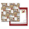 "Prima Marketing Road Trip 12x12"" Dobbeltsidet Cardstock - Postcards"