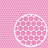 "We R Washi Tape Adhesive Sheet 6x6"" - Pink"