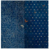"BoBunny Double Dot Vintage Double-Sided Cardstock 12x12"" - Dark Denim"
