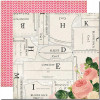 "Carta Bella Sew Lovely Double-Sided Cardstock 12x12"" - Beautiful Blouse"