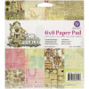 "Prima Marketing Single-Sided Paper Pad 6x6"" Garden Fable TASTER"