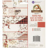 """Prima Marketing Double-Sided Paper Pad 6x6"""" Christmas In The Country TASTER"""