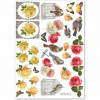 "LaBlanche A4 CutOut Sheet ""Dream Garden 02"""