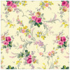 "Anna Griffin Grace Enkeltsidet Cardstock 12x12"" - Scroll Floral/Gold"