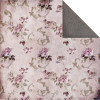 "FabScraps High Tea Dobbeltsidet 12 x 12"" Papir - Floral/Purple & Pink"