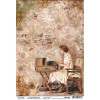 Ciao Bella Rice Paper Sheet A4 Writing Is The Painting, The Muse