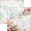 """Ciao Bella Double-Sided Cardstock 12x12"""" Microcosmos Wildflowers"""