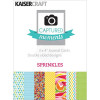"KaiserCraft Captured Moments Double-Sided Cards 3x4"" - Sprinkles TASTER"