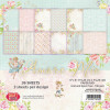 "Craft & You Design Dobbeltsidet Paper Pad 6x6"" Amore Mio TASTER"