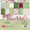 "Craft & You Design Enkeltsidet Paper Pad 6x6"" Flower Vibes TASTER"