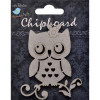 Little Birdie Owl 1pc Chipboard