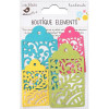 Little Birdie Laser Cut Tags Candy Crush 4pcs Boutique Elements