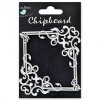 Little Birdie Chipboard Ornate Frame 1Pcs - Square