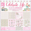 "Little Birdie 12x12"" Paper Pack - Celebrate Life 12 Sheets"