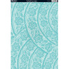 A4 Kanban Matting Card Papir - Scalloped Lace - Aqua