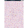 Kanban A4 Background Card - Scattered Flowers Pink