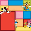 "Disney Speciality Paper 12x12"" - Mickey Color Block"