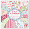 "TrimCraft First Edition 6x6"" Premium Paper Pad - Floral Pavilion TASTER"