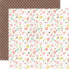 "Echo Park Bundle Of Joy Girl Double-Sided Cardstock 12x12"" - Baby Cakes"
