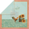 "Craft & You Design My Home Garden Dobbeltsidet Cardstock 12x12"" Paper - 01"