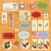 "Craft & You Design My Home Garden Enkeltsidet Cardstock 12x12"" Klippeark - 07"