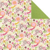 "KaiserCrafts Summer Breeze 12x12"" Dobbeltsidet Cardstock - Full Bloom"